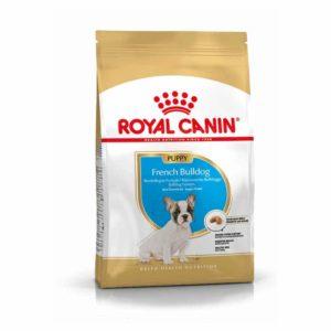 Vrečka suhe hrane French bulldog junior royal canin