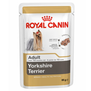 Vrečka mokre hrane Yorkshire Terrier adult Royal Canin