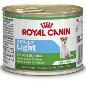 Pločevinka mokre hrane mini adult light Royal Canin