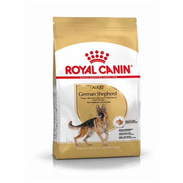 vrečka suhe hrane German Shepherd Adult Royal Canin
