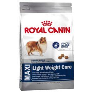 Vrečka suhih briketov Maxi Light Weight Care Royal Canin