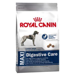 Vrečka suhe hrane Maxi Digestive Care Royal Canin