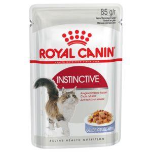 Vrečke mokre hrane Instinctive v želeju Royal Canin