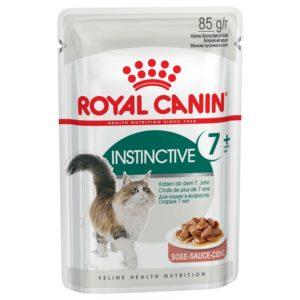 vrečka mokre hrane Instinctive +7 v omaki Royal Canin