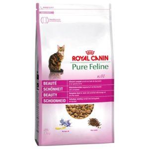 Vrečka suhih briketov za lepoto mačke Royal Canin