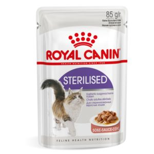 Sterilised v omaki Royal Canin