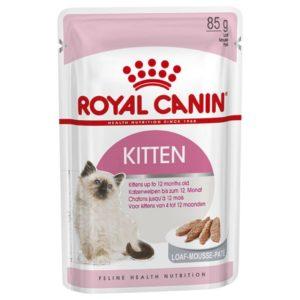 Vrečka mokre hrane za mačje mladiče Instinctive Kitten v pašteti Royal Canin