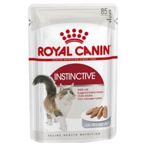 Vrečka mokre hrane Instinctive v pašteti Royal Canin