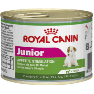 Pločevinka mokre hrane mini Junior Royal Canin