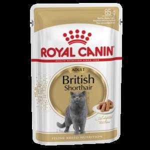 Vrečka mokre hrane za britanke , Royal Canin
