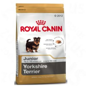 vrečka suhe hrane Yorkshire Terrier Junior Royal Canin